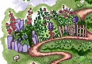 A Artists garden Lemon secret gardens